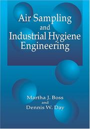 Cover of: Air sampling and industrial hygiene engineering
