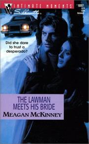 Cover of: The Lawman Meets His Bride: Matched in Montana (Silhouette Intimate Moments No. 1037) (Intimate Moments, 1037)