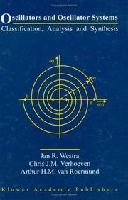 Cover of: Oscillators and Oscillator Systems - Classification, Analysis and Synthesis