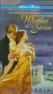 Cover of: Weather the Storm (American Dreams , No 3)