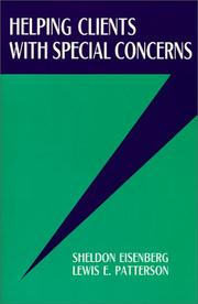 Cover of: Helping Clients With Special Concerns