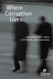 Cover of: Where corruption lives