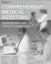 Cover of: Delmar's Comprehensive Medical Assisting Administrative and Clinical Competencies (Medical Assisting)