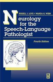 Cover of: Neurology for the Speech-Language Pathologist