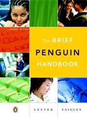 Cover of: Brief Penguin Handbook, The (with Essential Study Card for Grammar and Documentation)