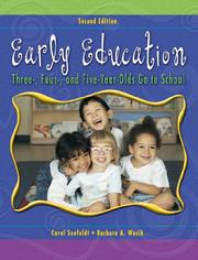 Cover of: Early Education