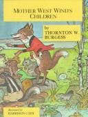 Cover of: Mother West Wind's Children (Nature-Story Books)