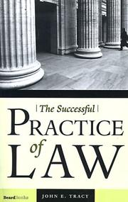 Cover of: The Successful Practice of Law