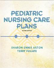 Cover of: Pediatric Nursing Care Plans