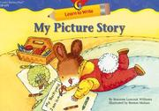 Cover of: My Picture Story (Learn to Write)
