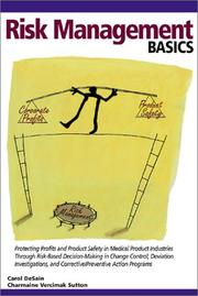 Cover of: Risk Management Basics