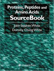 Cover of: Proteins, Peptides, and Amino Acids SourceBook