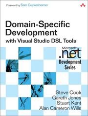 Cover of: Domain-Specific Development with Visual Studio DSL Tools (Microsoft .NET Development Series)