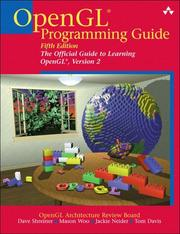 Cover of: OpenGL Programming Guide