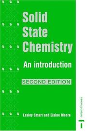 Cover of: Solid State Chemistry: An Introduction