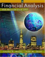 Cover of: Financial Analysis with Microsoft  Excel 2002