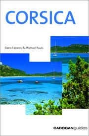 Cover of: Corsica (Country & Regional Guides - Cadogan)