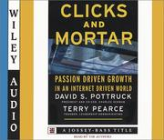 Cover of: Clicks and Mortar