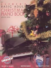 Cover of: Alfred's Basic Adult Course, Christmas Piano Book 1 (Alfred's Basic Adult Piano Course)
