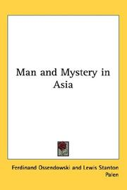 Cover of: Man and Mystery in Asia