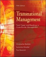 Cover of: Transnational Management