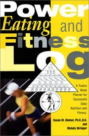Cover of: Power Eating & Fitness Log
