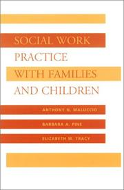 Cover of: Social Work Practice with Families and Children