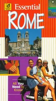 Cover of: Essential Rome
