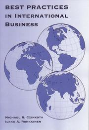 Cover of: Best Practices in International Business (The Harcourt College Publishers Series in Management)