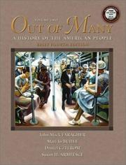 Cover of: Out of Many,Brief