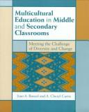Cover of: Multicultural Education in Middle and Secondary Classrooms