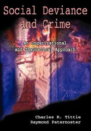 Cover of: Social Deviance and Crime