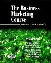 Cover of: The Business Marketing Course