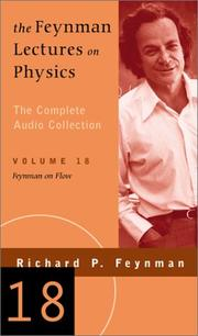 Cover of: Feynman on Flow (The Feynman Lectures on Physics, Volume 18)