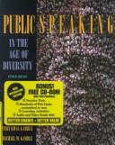 Cover of: Public Speaking in the Age of Diversity (With Interactive Edition CD-ROM) (2nd Edition)