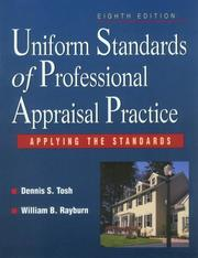 Cover of: Uniform Standards of Professional Appraisal Practice