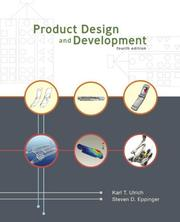 Cover of: Product Design and Development