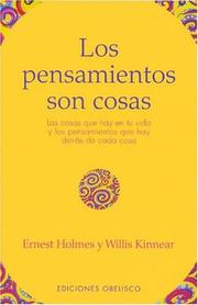 Cover of: Los Pensamientos Son Cosas / Thoughts Are Things