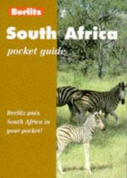 Cover of: South Africa Pocket Guide
