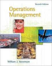 Cover of: Operations Management with Student CD-ROM