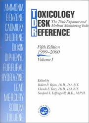 Cover of: Toxicology Desk Reference