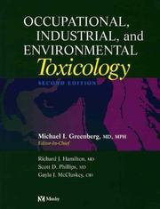 Cover of: Occupational, Industrial, and Environmental Toxicology