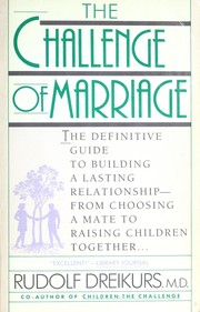 Cover of: The Challenge of Marriage