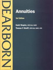 Cover of: Annuities