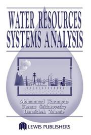 Cover of: Water Resources Systems Analysis