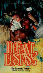 Cover of: DEFIANT ECSTASY