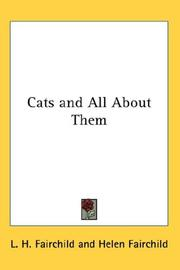 Cover of: Cats and All About Them