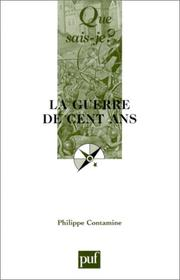 Cover of: La Guerre de cent ans