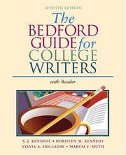 Cover of: The Bedford Guide for College Writers with Reader