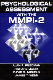 Cover of: Psychological Assessment With the MMPI-2